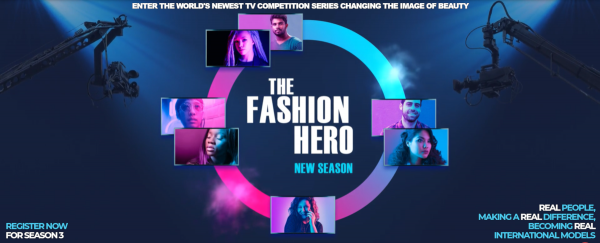 THE FASHION HERO - THE NEWEST TV SERIES CASTING REAL PEOPLE AS MODELS