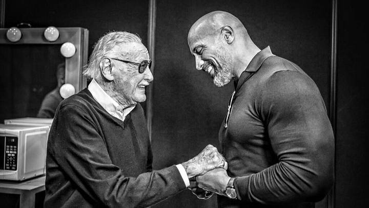 The Beautiful Moment Dwayne Johnson Shared With Stan Lee Before He Died